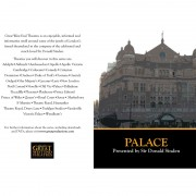 Palace Theatre – Insert #1