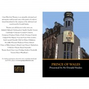 Prince of Wales Theatre – DVD Insert #1