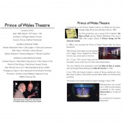 Prince of Wales Theatre – DVD Insert #2