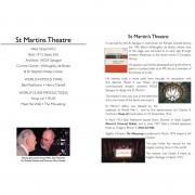 St. Martin's Theatre – DVD Insert #2